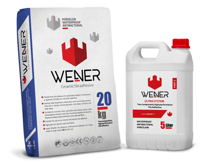WENER 2 Parts Porcelain Adhesive