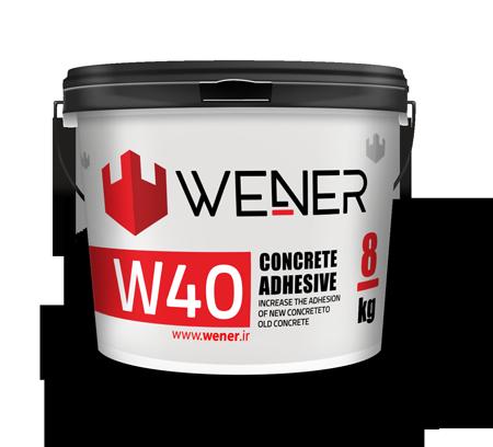 چسب بتن WENER W40 Concrete Adhesive